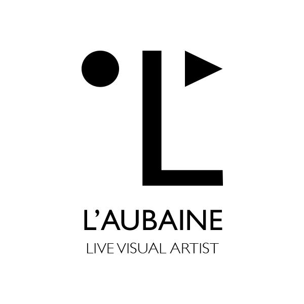 L'Aubaine logo / live visual artist